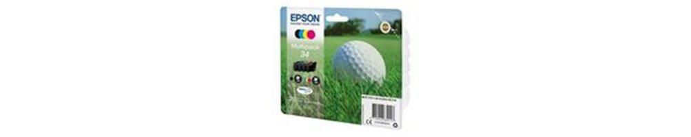 Cartouches pour imprimante Epson 34 / 34XL - Balle de Golf Pas Chères – Dès demain chez vous.