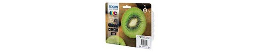 Cartouches pour imprimante Epson 202 / 202XL - Kiwi Pas Chères – Dès demain chez vous.