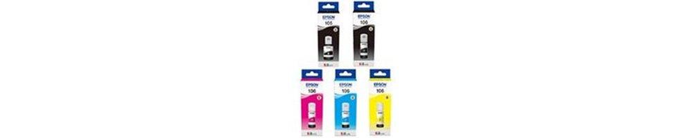 bouteilles pour imprimante Epson EcoTank 105/106 Pas Chères | Direct cartouche