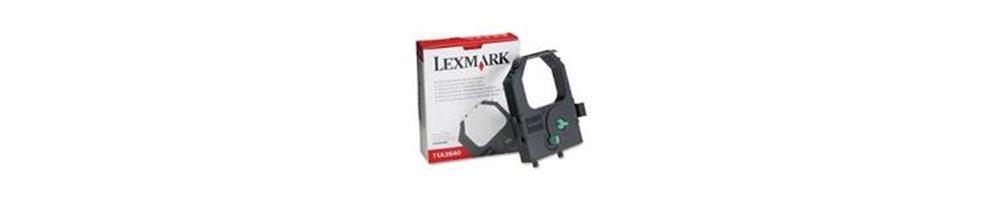 Retouvez ici tous les Rubans Lexmark au meilleur prix du net