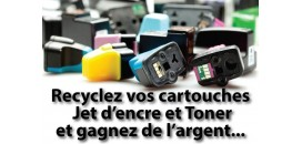 Recyclez vos cartouches d'encre et toner